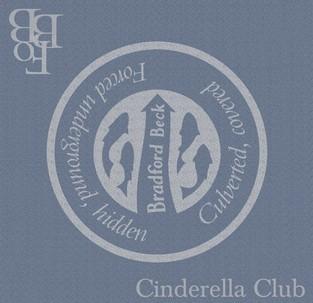 Marking Bradford Beck Plaque 7, sponsored by Cinderella Club