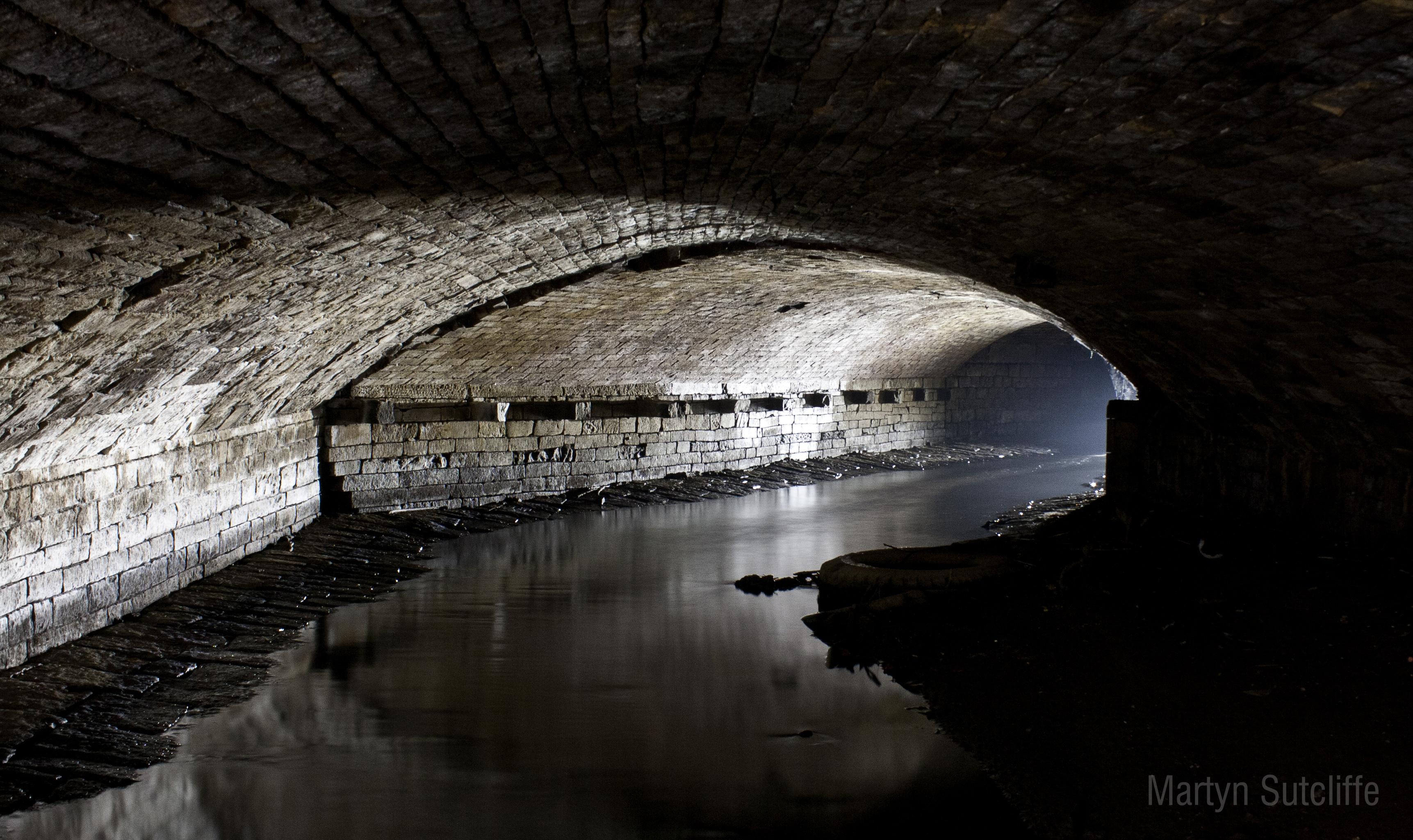 Bradford Beck underground at Plaque 5